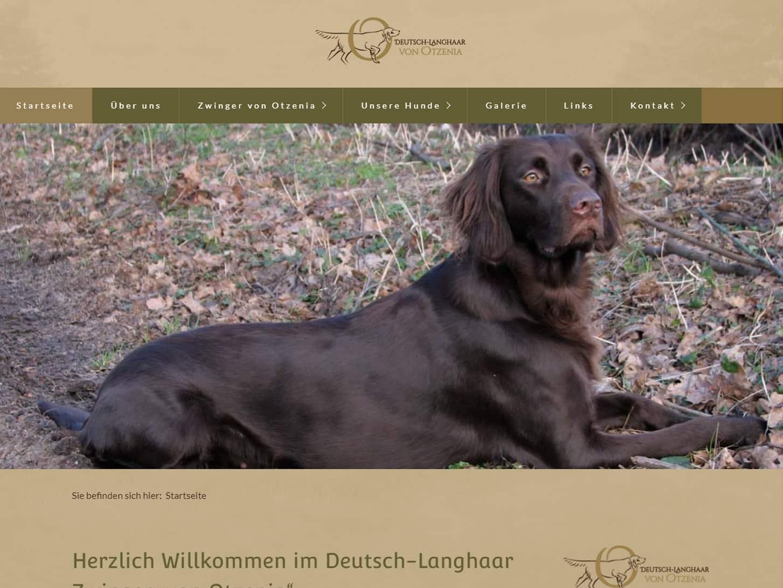 """Deutsch-Langhaar Zwinger """"von Otzenia"""""""