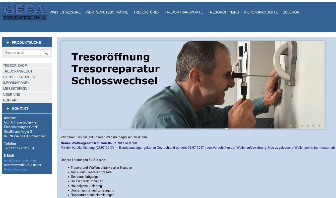 GEFA Tresortechnik