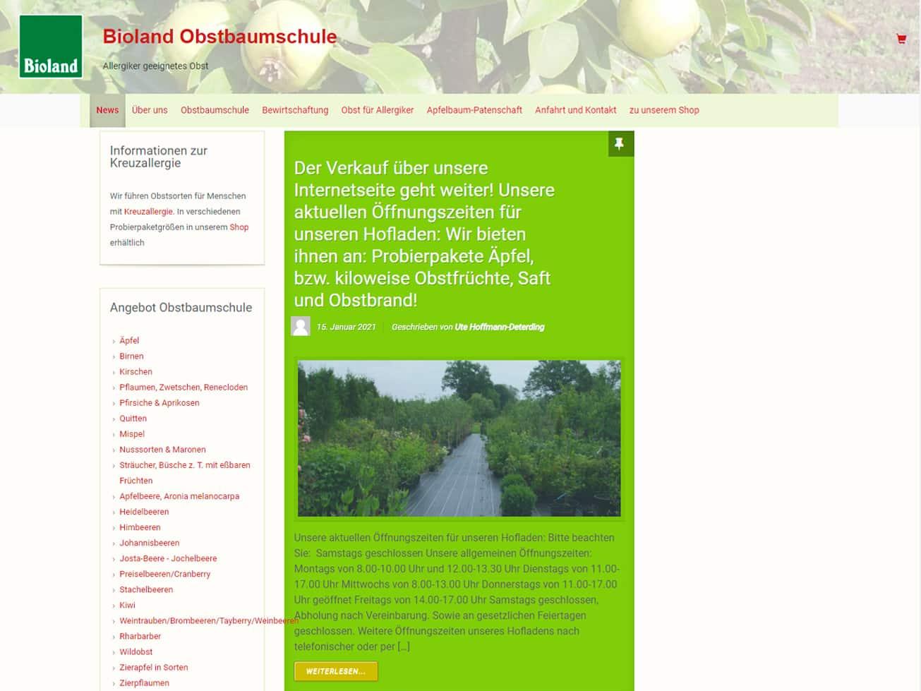 Hoffmann Obstbaumschule