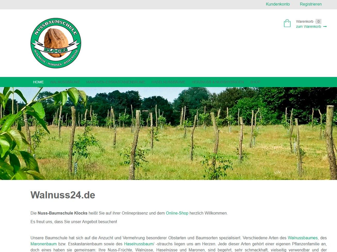 Nussbaumschule Klocks